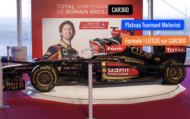 CAR360 spécialiste du plateau tournant www.plateautournantvoiture.com