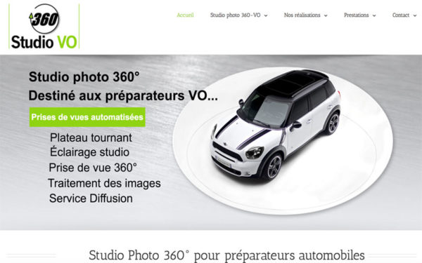 Studio a destination de la preparation VO studiophoto360-vo.fr